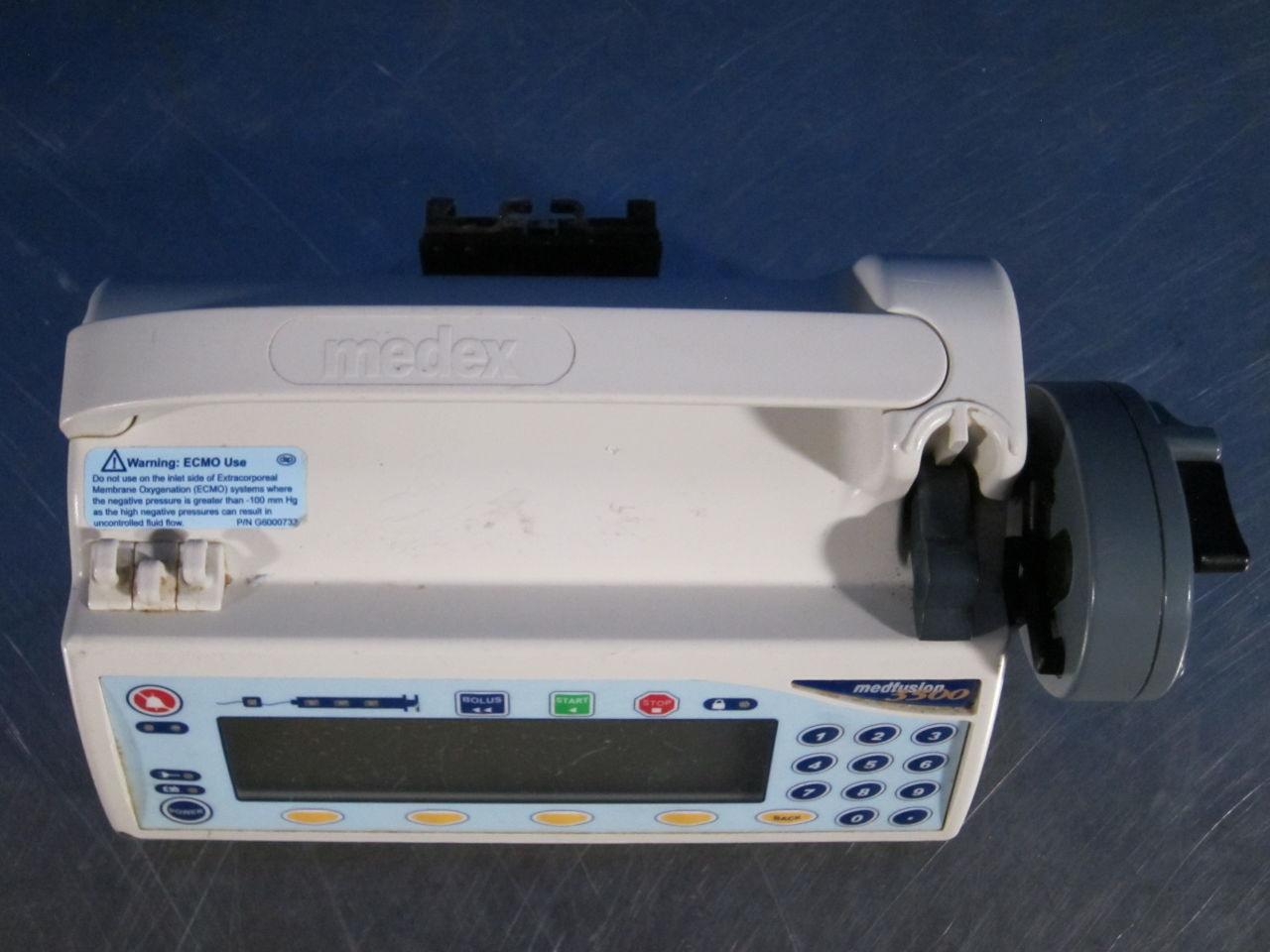 MEDEX Medfusion 3500  - Lot of 3 Pump IV Infusion