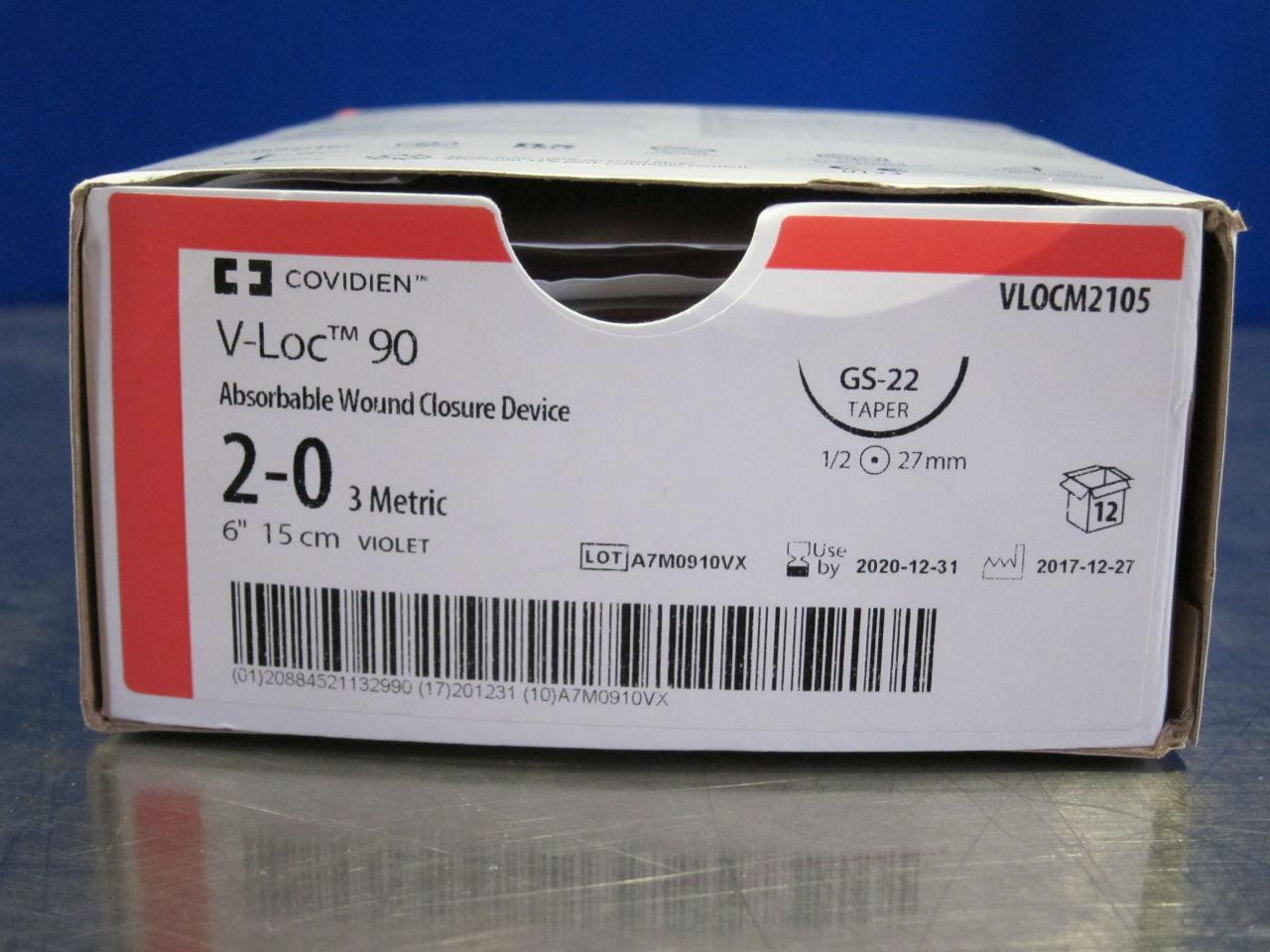 COVIDIEN VLOCM2105 Wound Closure Device