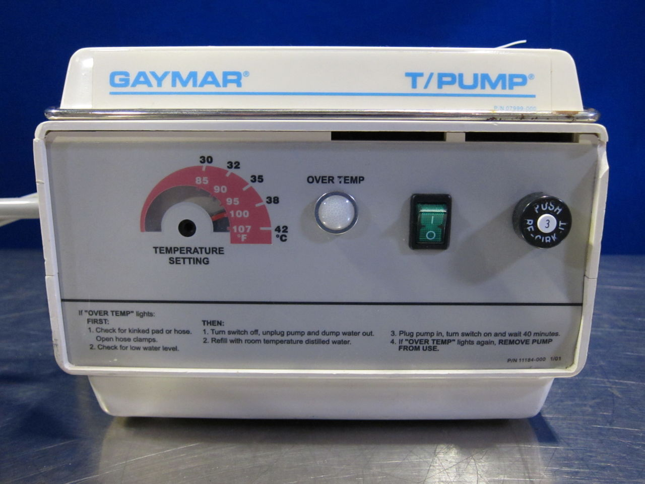 GAYMAR TP500  - Lot of 3 Heat Therapy Unit