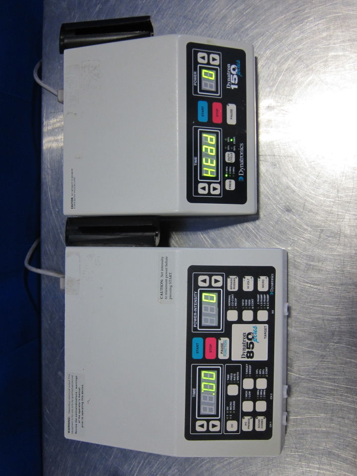 DYNATRONICS D850 Plus/D150 Plus  - Lot of 2 Ultrasound Therapy Unit