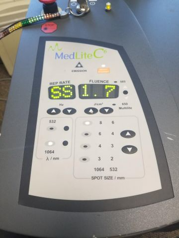 HOYA CONBIO MEDLITE C6 Laser- Q Switch