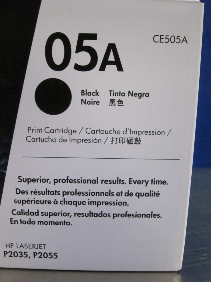 HP 05A Black Print Cartridge