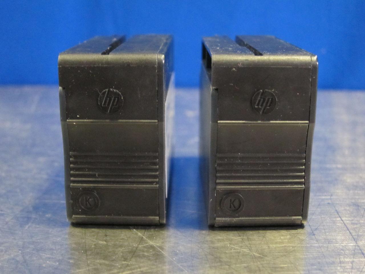 HP 932xL Black Ink Cartridges - Lot of 2