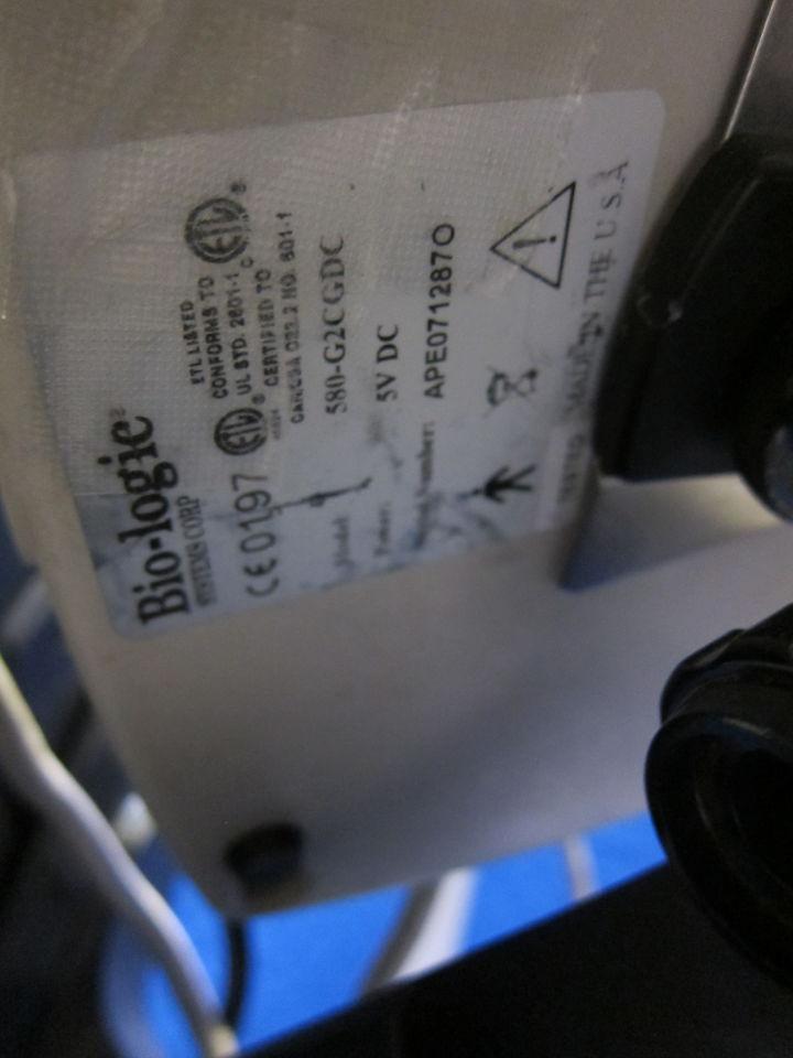 BIO-LOGIC SYSTEMS CORP 580G2CGDC ECG unit