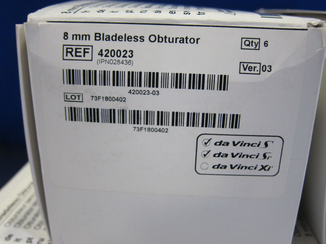 INTUITIVE SURGICAL 420023 Bladeless Obturator - Lot of 30