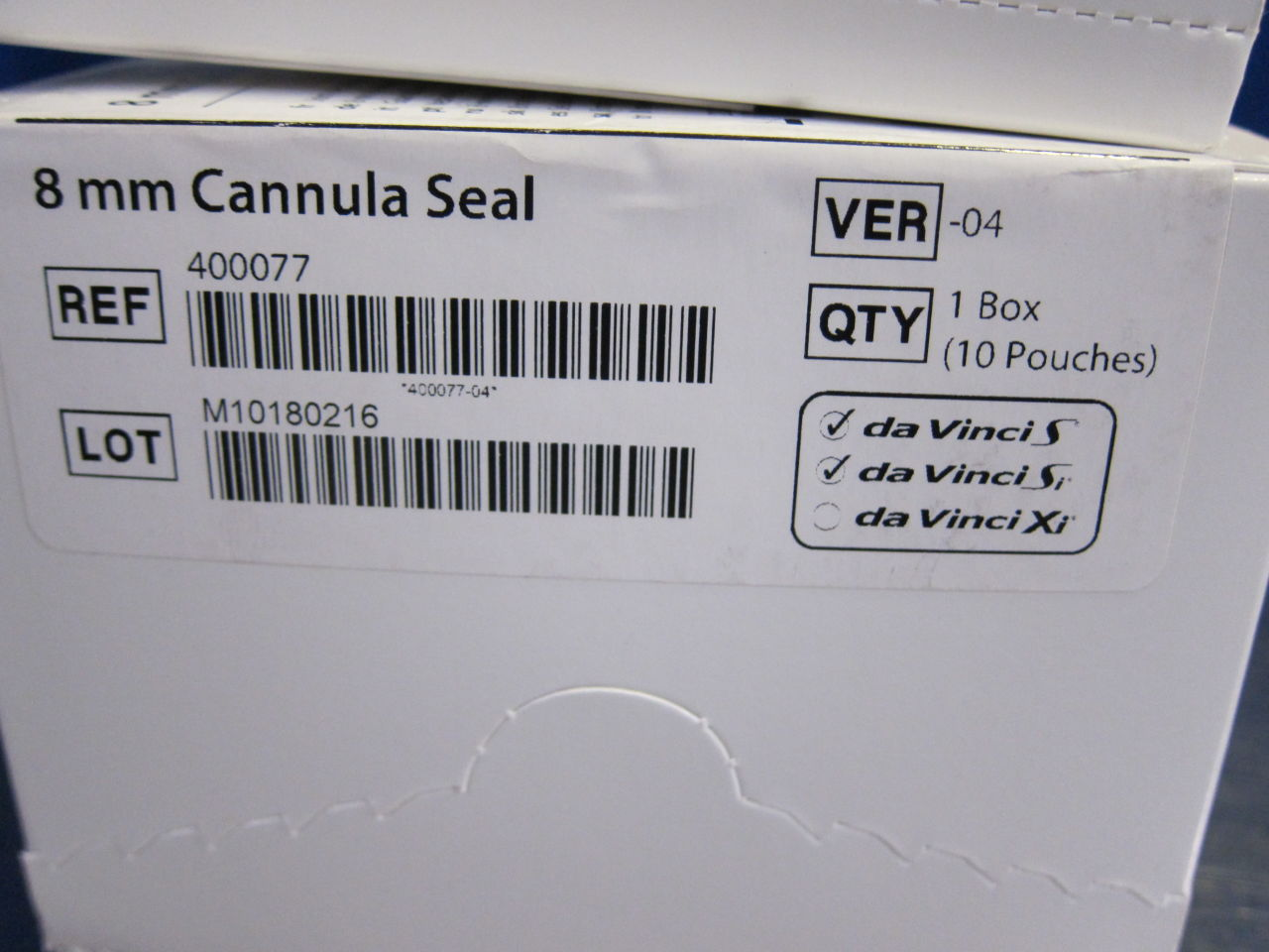 INTUITIVE SURGICAL 400077 Cannula Seal - Lot of 56