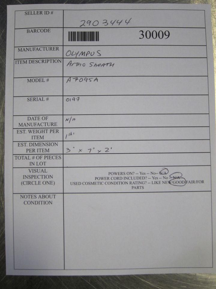 OLYMPUS A70950 Arthro Sheath