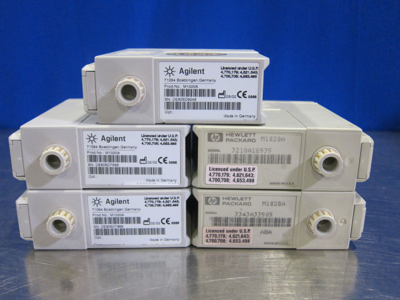 AGILENT M1020A  - Lot of 24 Module