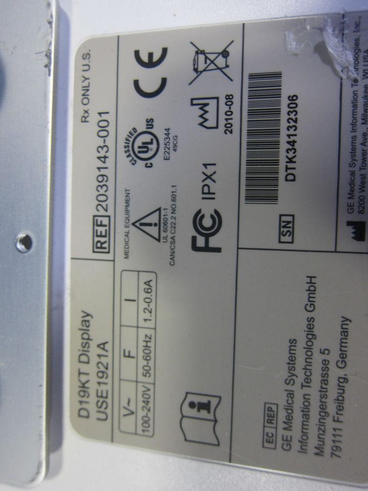 GE Solar 8000M Monitor