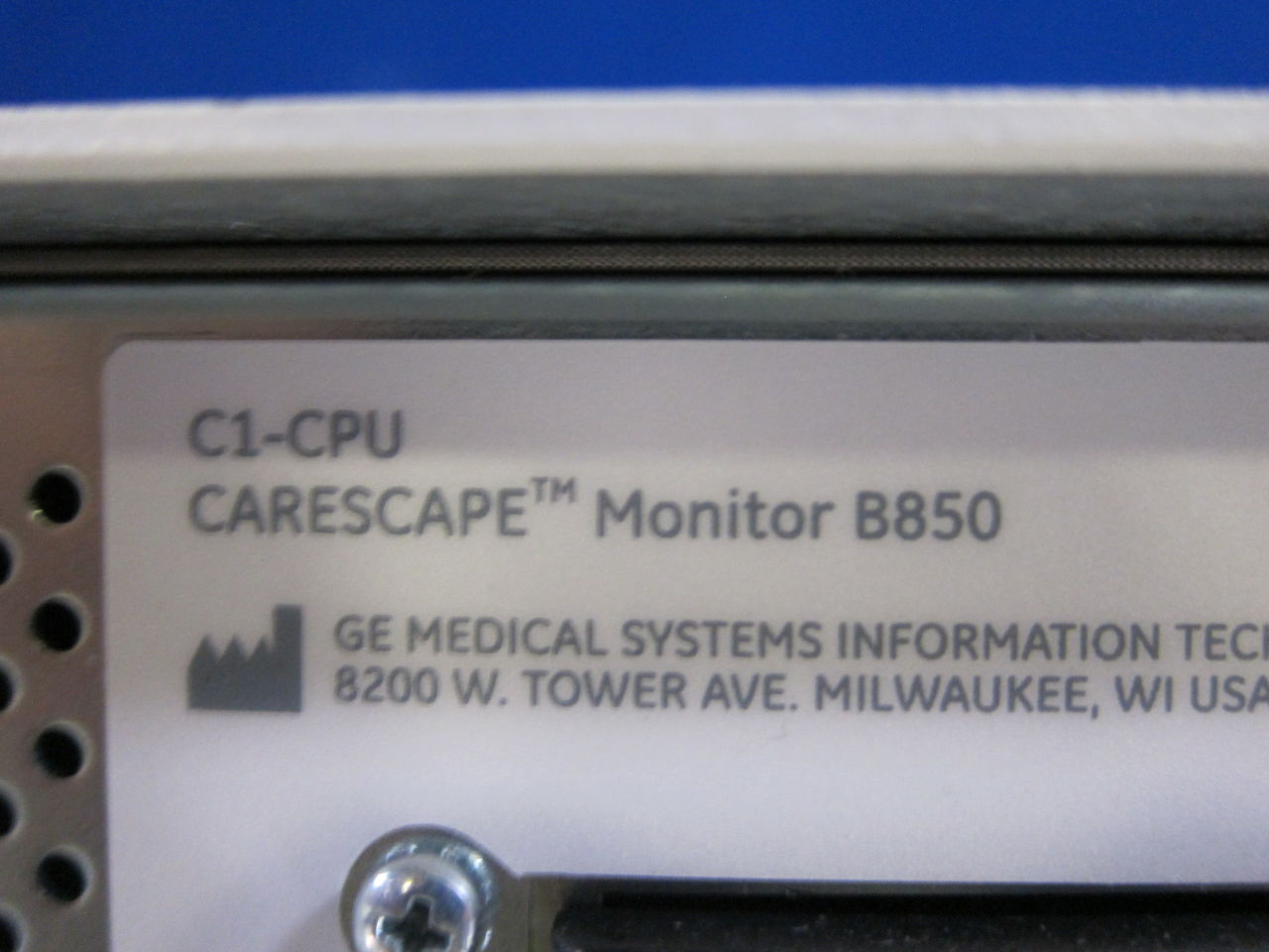 GE Carescape  - Lot of 3 Monitor