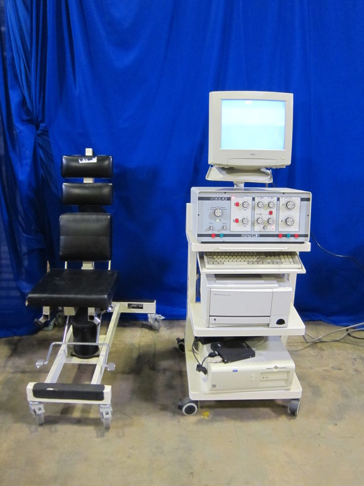 BIODEX Various Dynamometer  Physical Therapy Unit