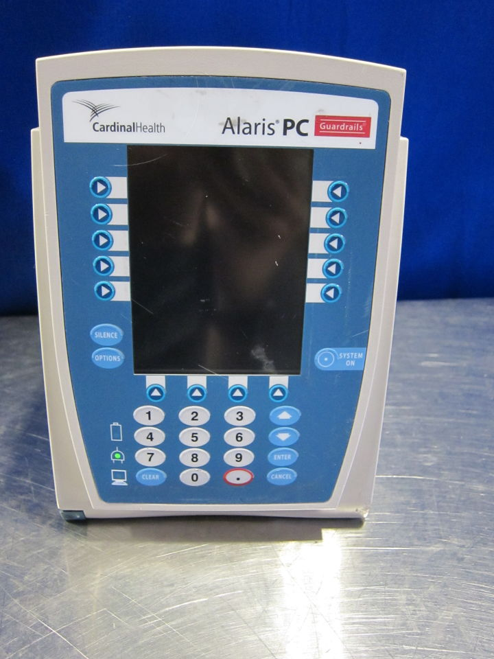 CARDINAL HEALTH Alaric PC  - Lot of 5 Pump IV Infusion