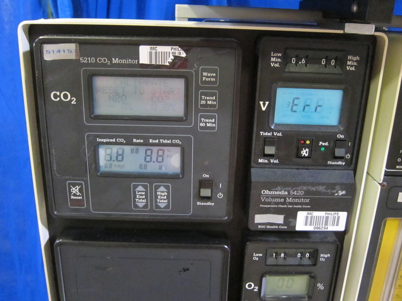 OHMEDA Modulus II Anesthesia Machine