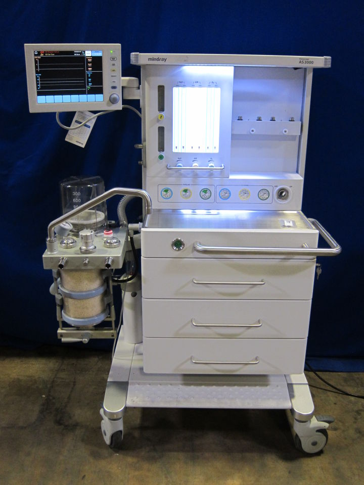 MINDRAY DATASCOPE AS 3000 Anesthesia Machine