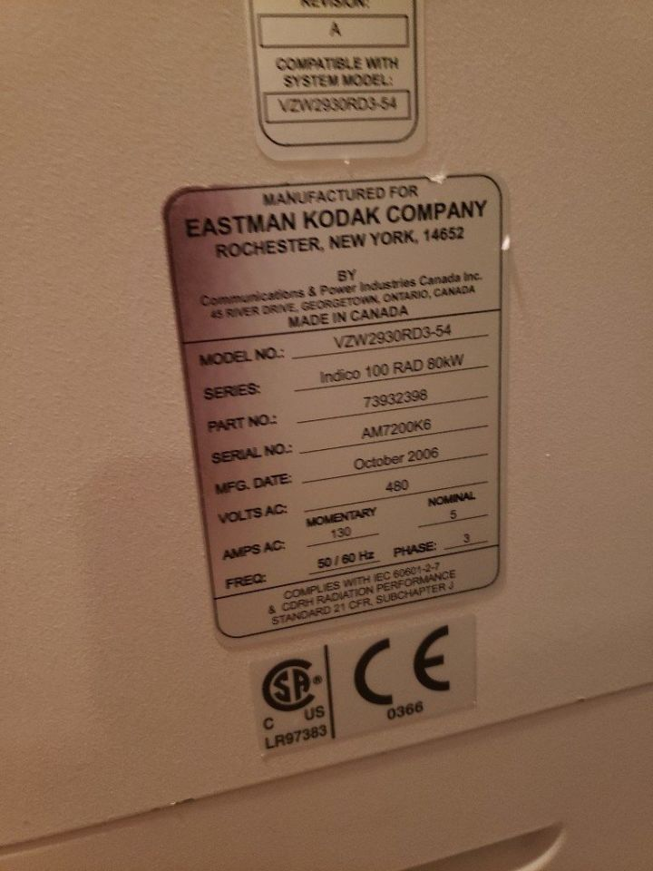 KODAK DirectView 7500 Rad Room