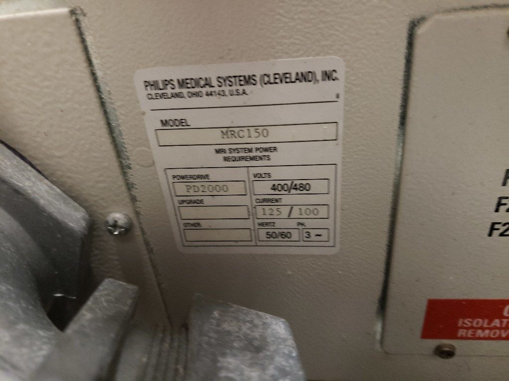 PHILIPS Infinion MRI Scanner