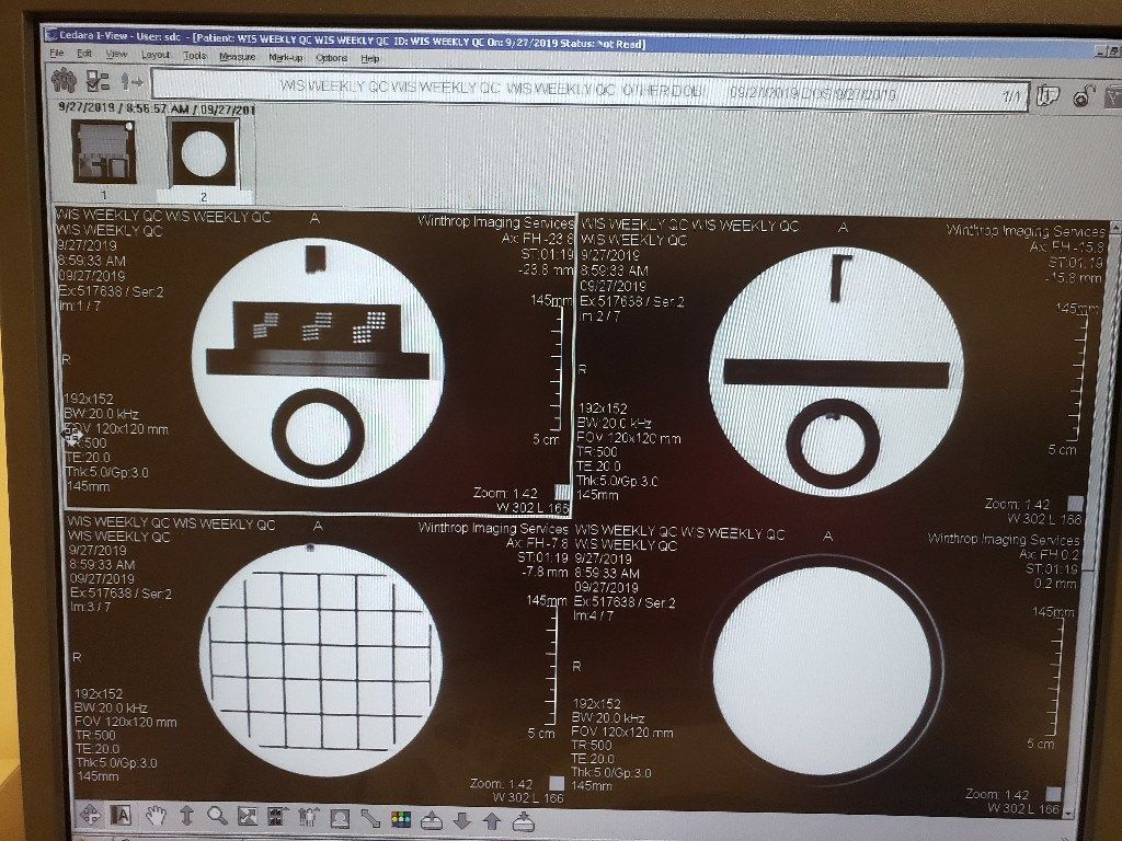 GE Optima MRI Scanner