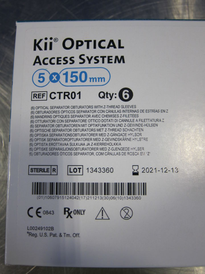 APPLIED MEDICAL Kii Optical Access Systems - Lot of 6