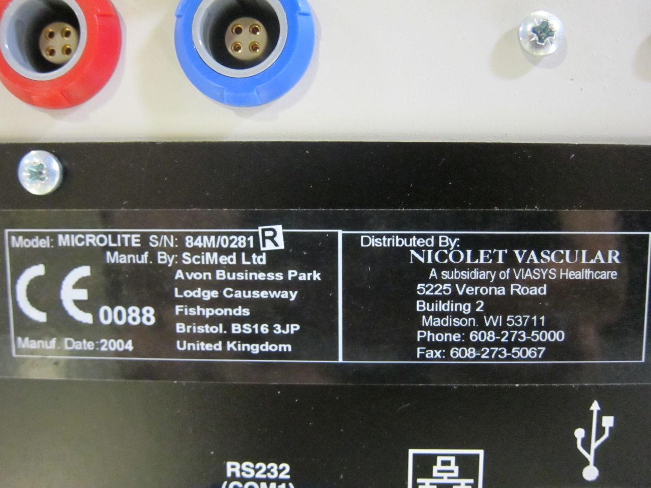 SCIMED Vasoguard Microlite Ultrasound Cardiac - Vascular