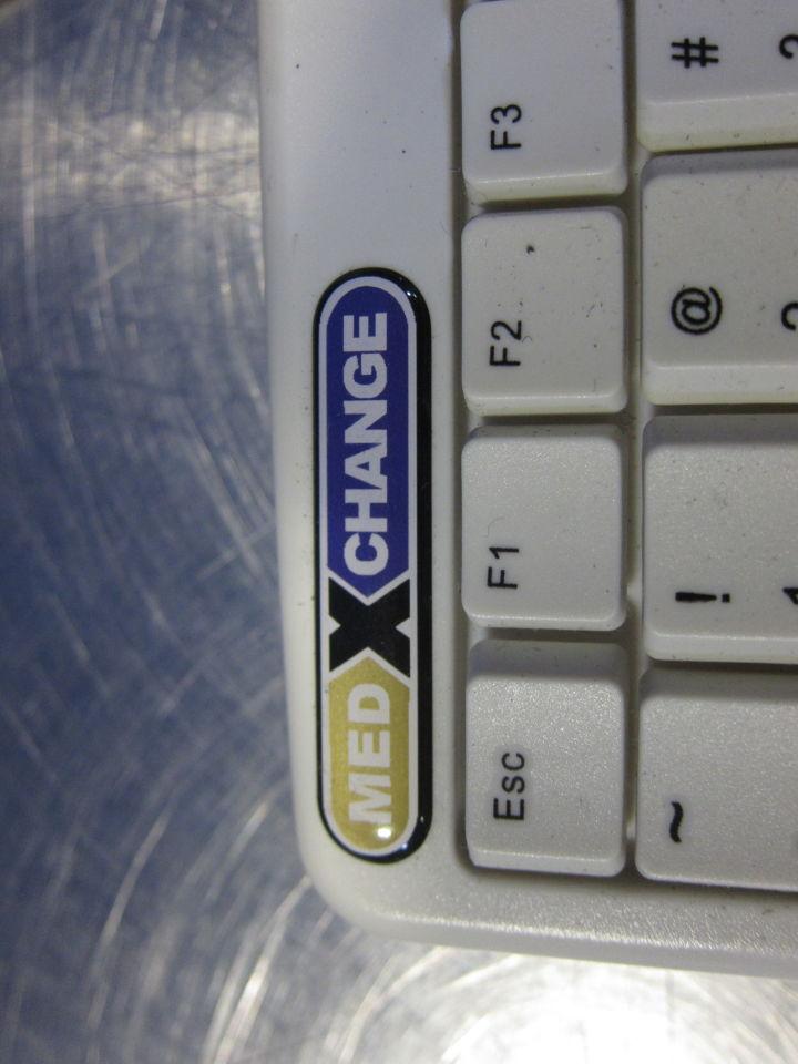 MEDXCHANGE AKB-410UW Keyboard w/ Touchpad