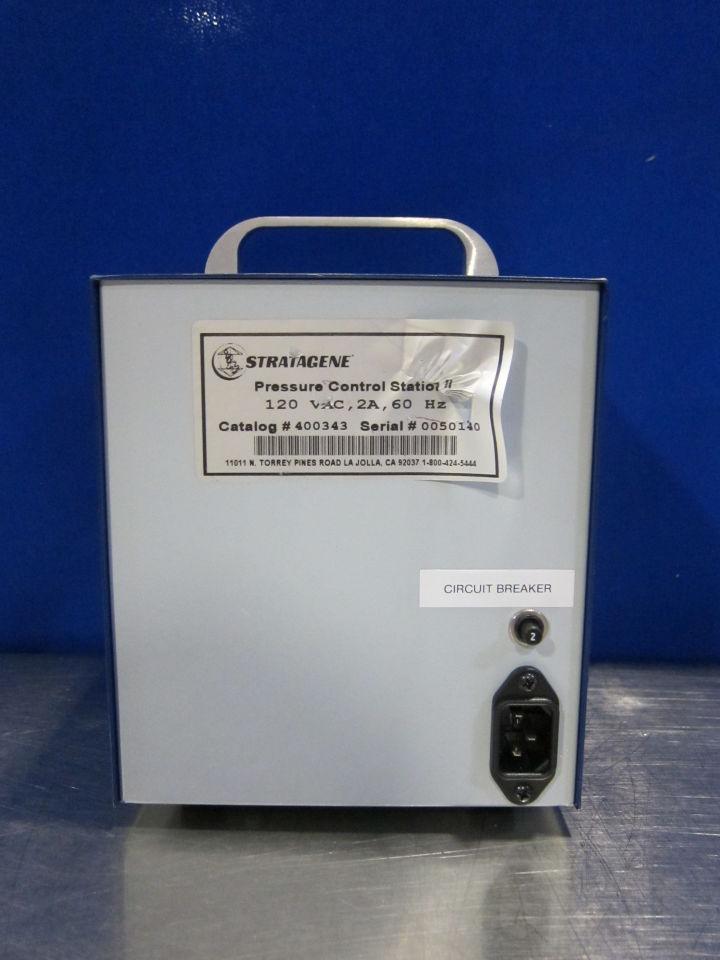 STRATAGENE 400343 Pressure Control Station