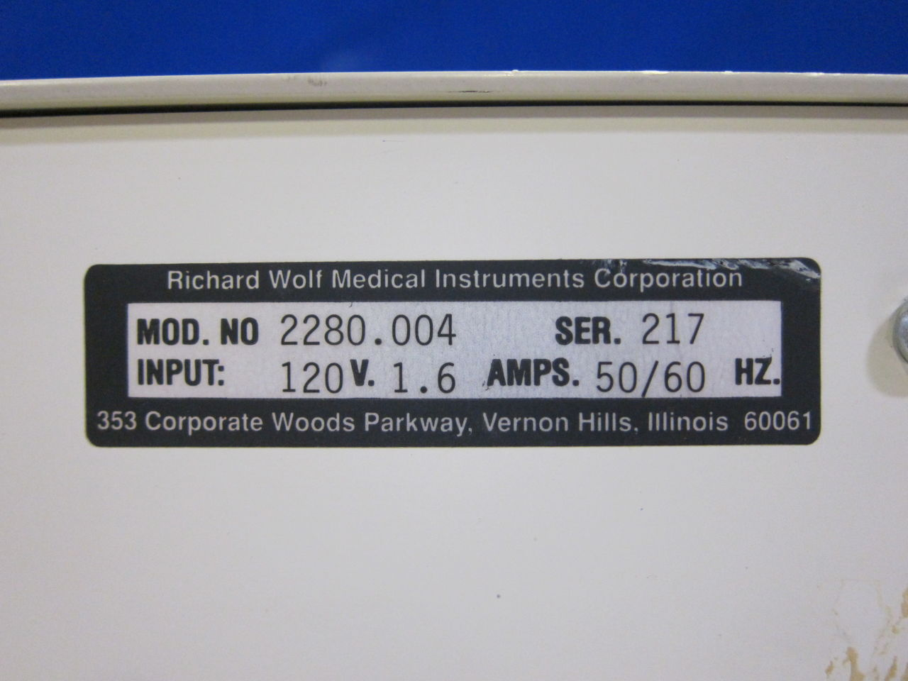 RICHARD WOLF Riwolith 228.004 Lithotripter