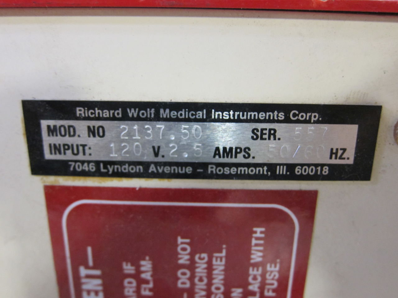 RICHARD WOLF Riwolith 2137.50 Lithotripter