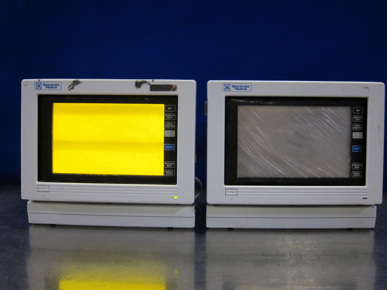SPACELABS 90309  - Lot of 2 Monitor