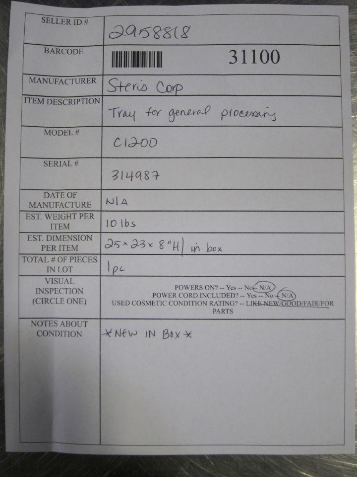 STERIS C1200 Surgical Cases