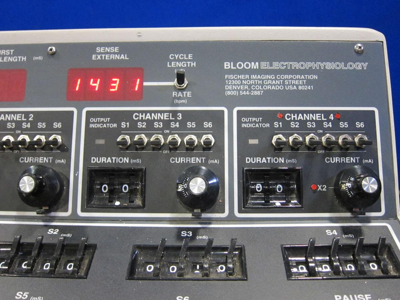 FISCHER IMAGING Bloom DTU-215B Stim EP Lab/X-Ray Room