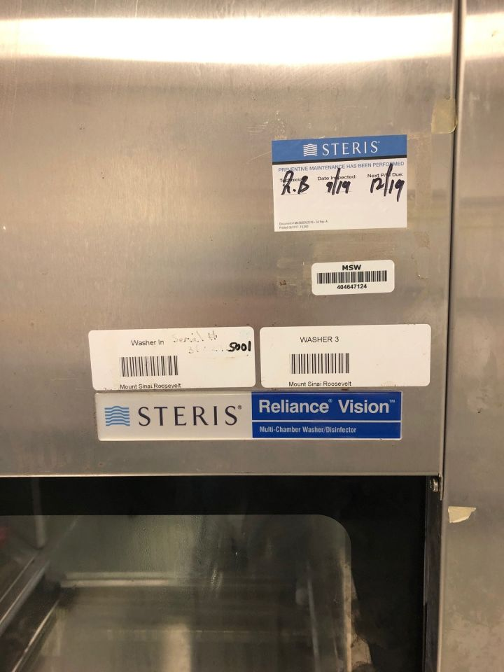 STERIS Vision Multi Stage Tunnel Washer / Disinfector