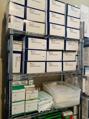 COVIDIEN Mix lot of 13000  Hypodermic Block and Epidural  Needles.  BBraun BD Magellan Smith Medical
