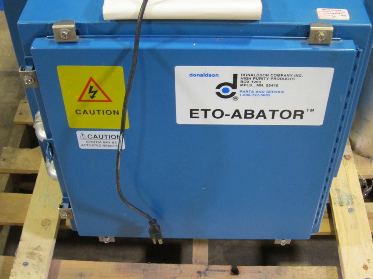 DONALDSON COMPANY ETO Ablator Sterilizer