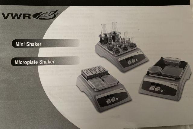 VWR VWR Microplate Shaker wTimer  120V 1200RPM  Cat  12620926 Rotator/Mixer/Rocker