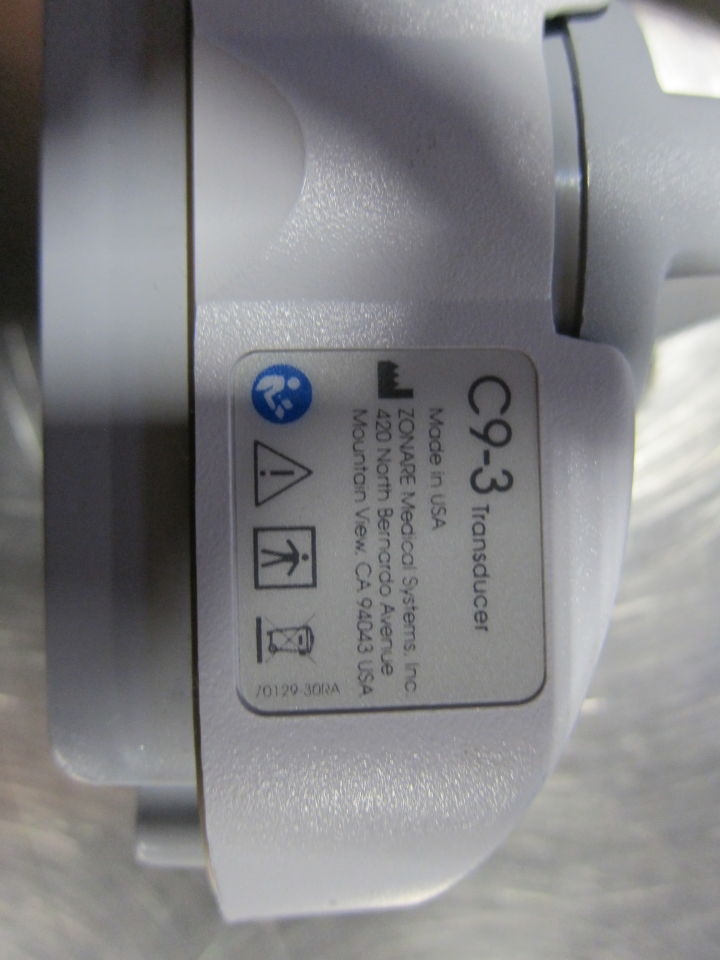ZONARE C9-3 Ultrasound Transducer