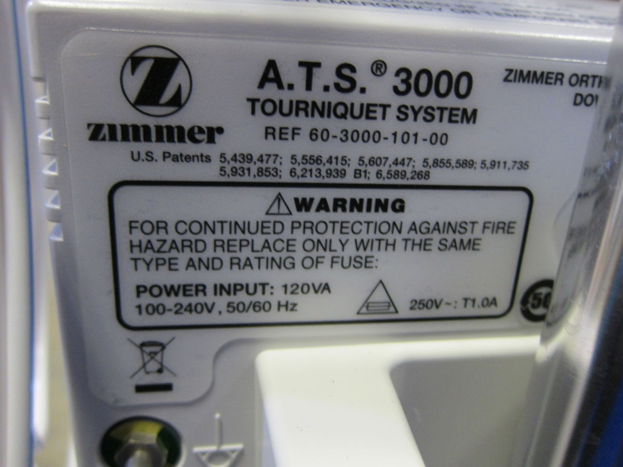 ZIMMER Various Tourniquet System