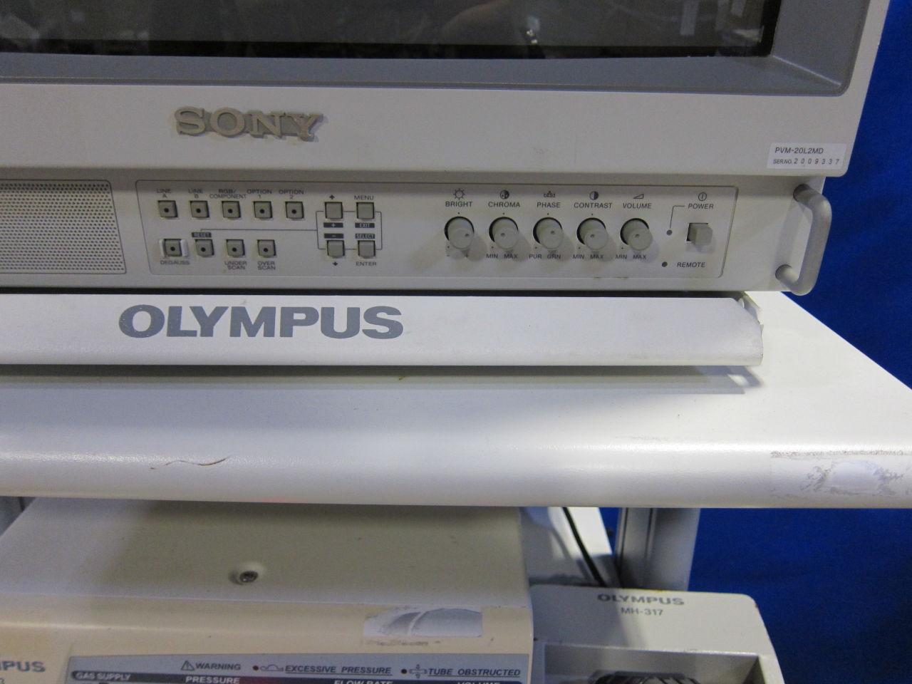 OLYMPUS/SONY Various Insufflator, Light Source, Monitor, Printer