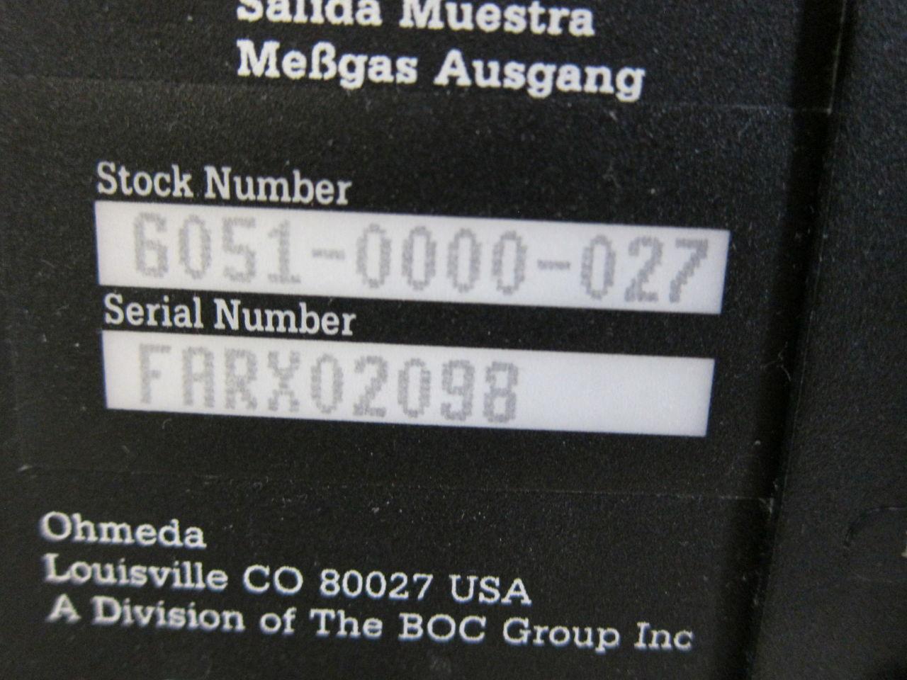 OHMEDA 5250 RGM Monitor