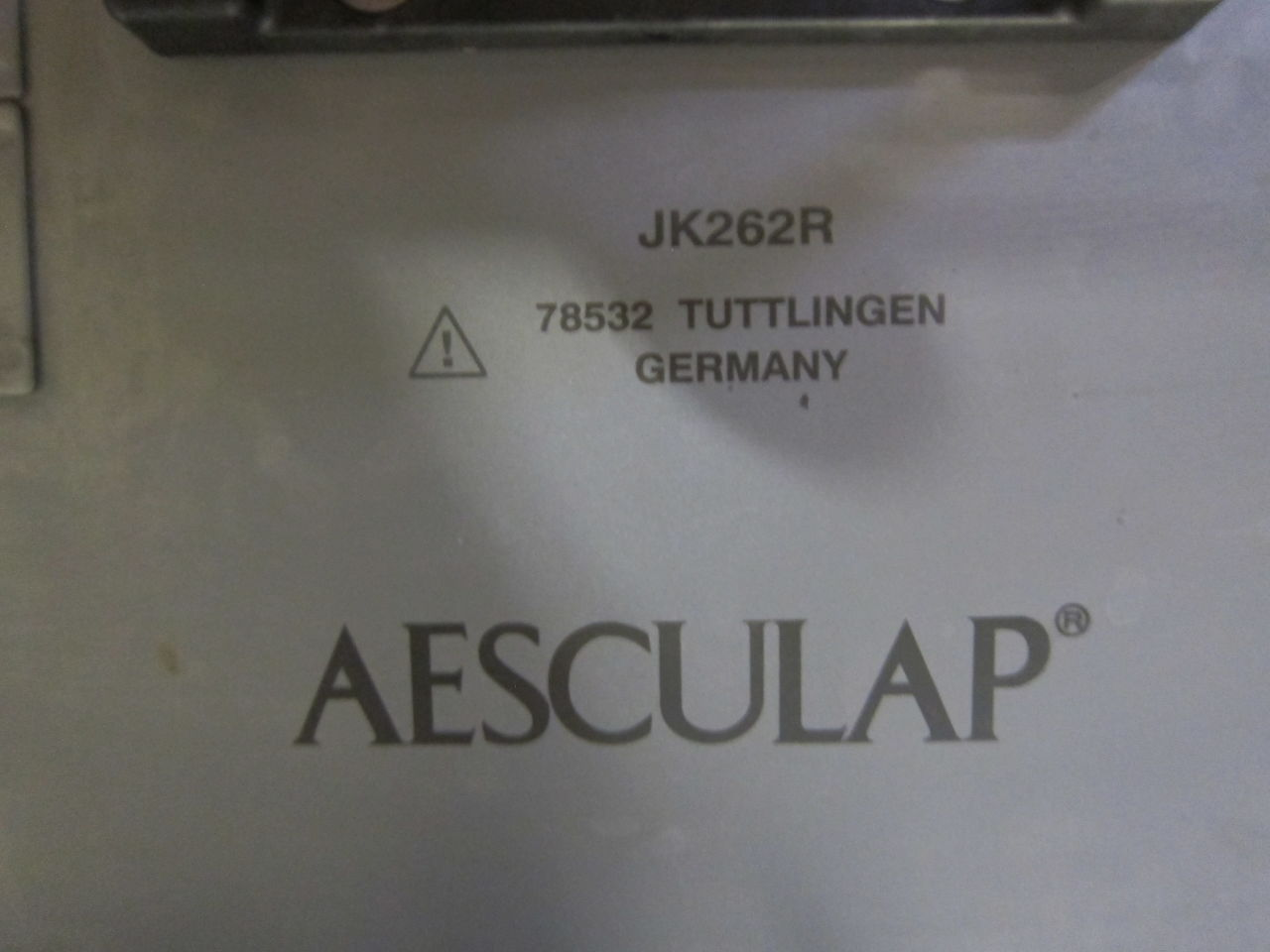AESCULAP JK262R  - Lot of 2 Surgical Cases