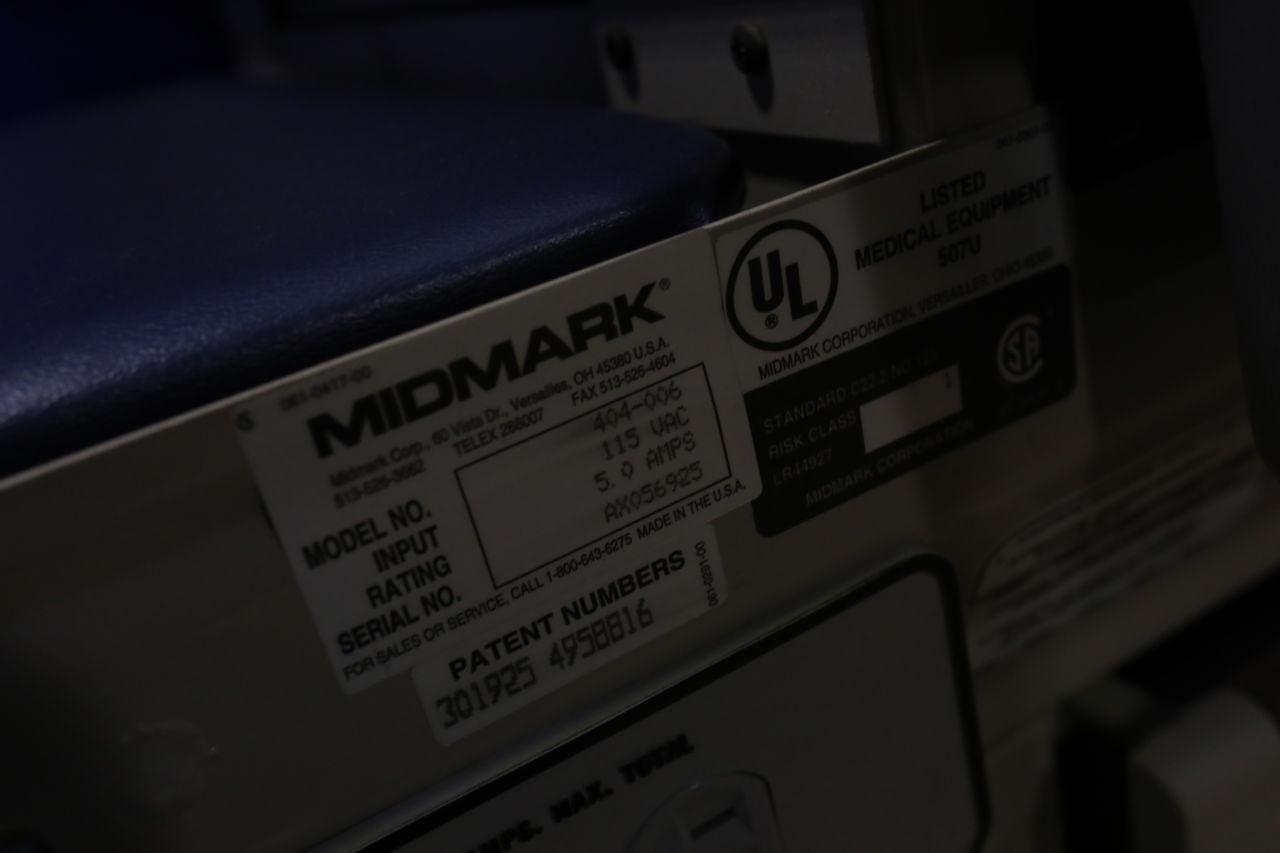 MIDMARK 404-005 Exam Table