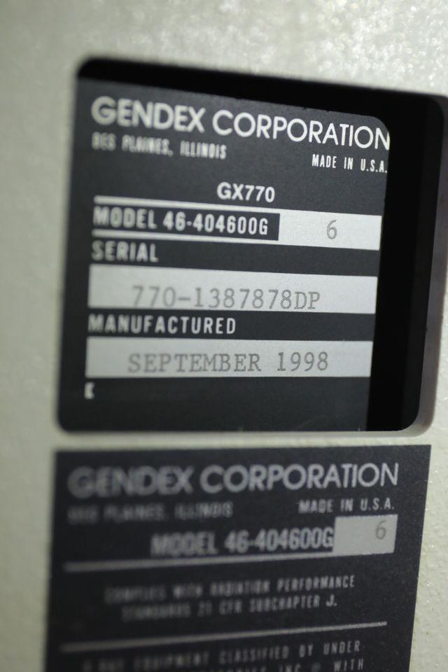 GENDEX GX-770 Dental X-Ray