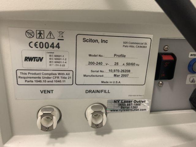 SCITON Profile Laser - YAG