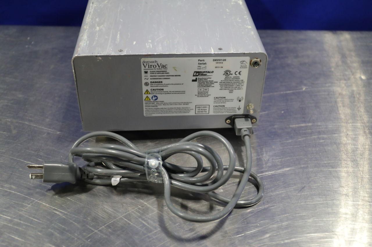 BUFFALO FILTER ViroVac DKVV120 Smoke Evacuator