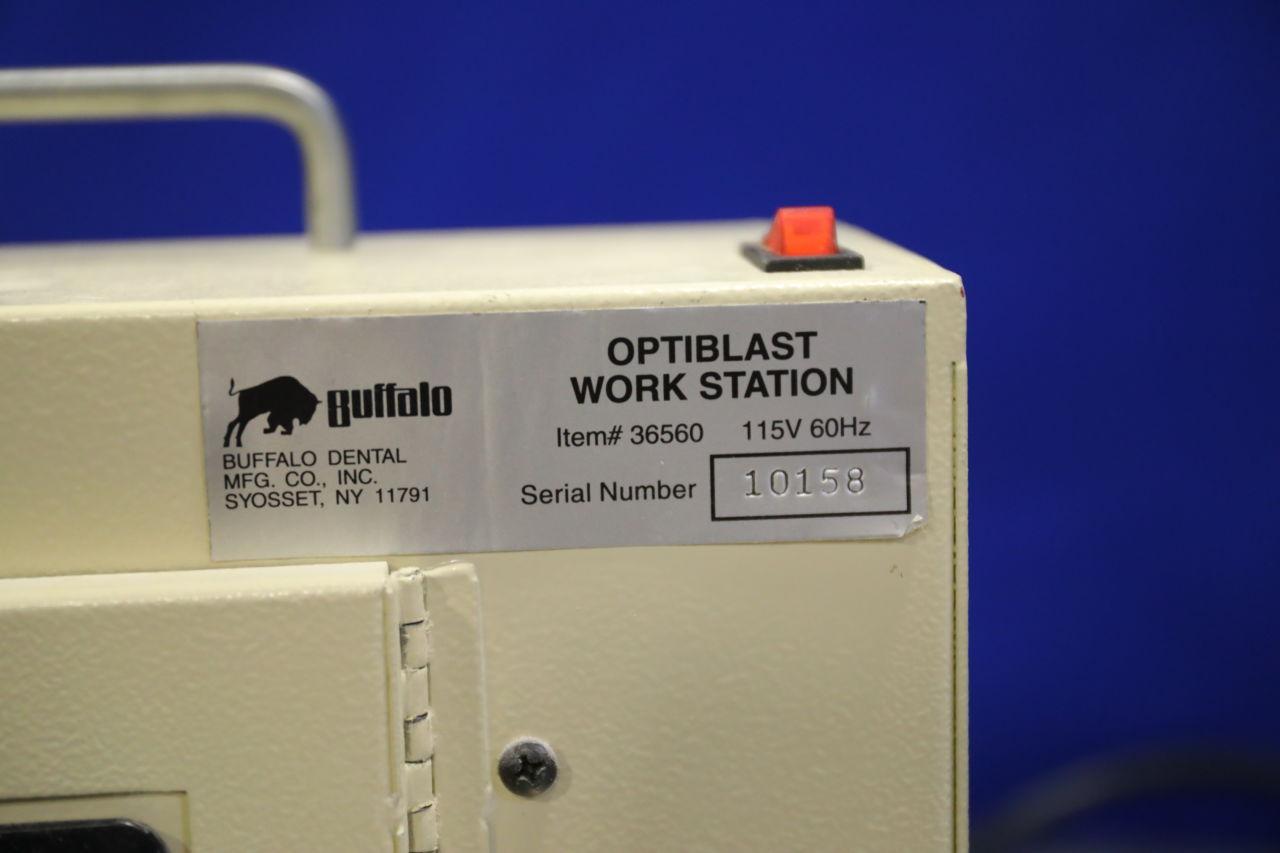 BUFFALO DENTAL OptiBlast Work Station