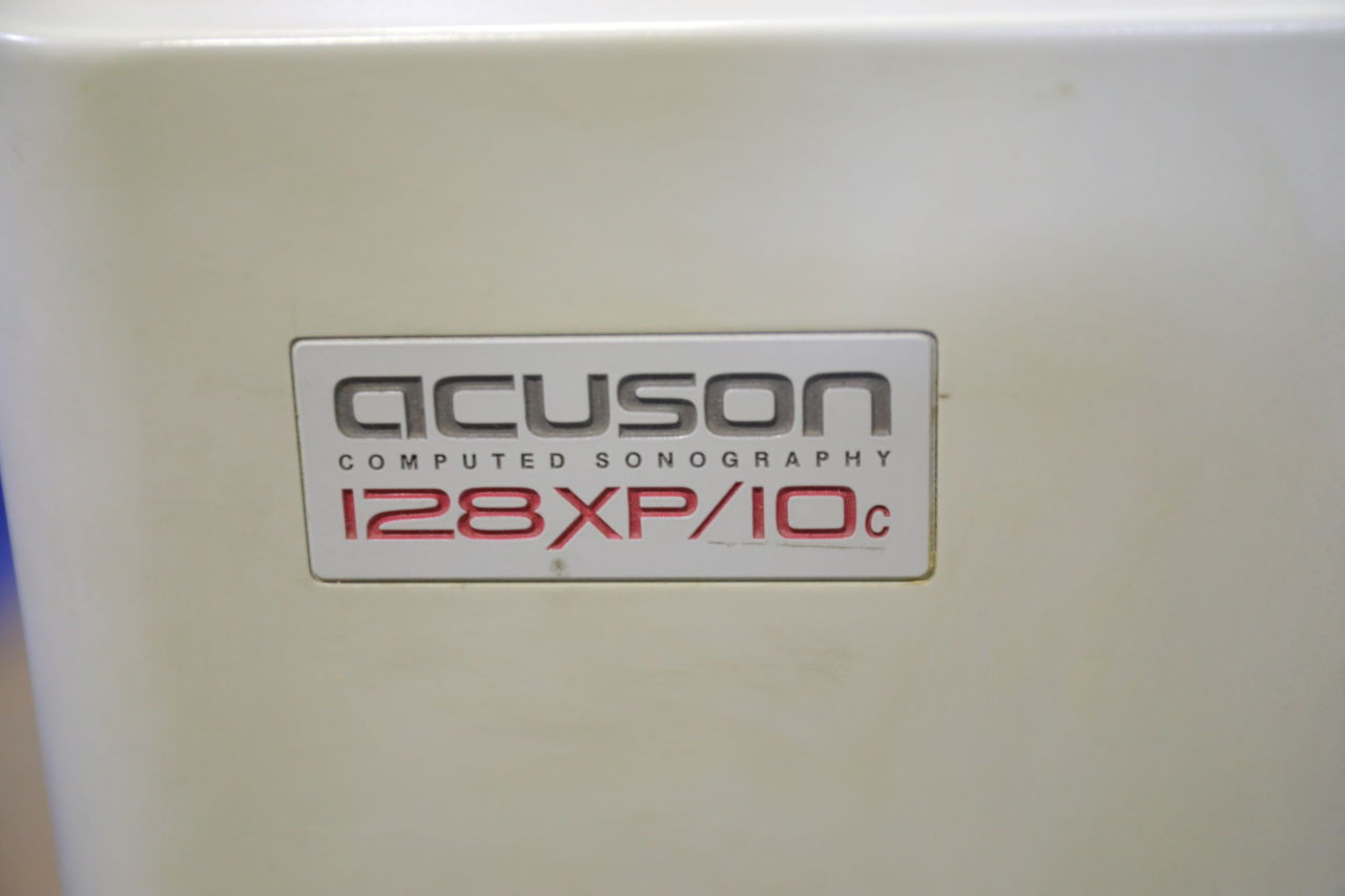 ACUSON 128XP/10C Computed Sonography Ultrasound Machine