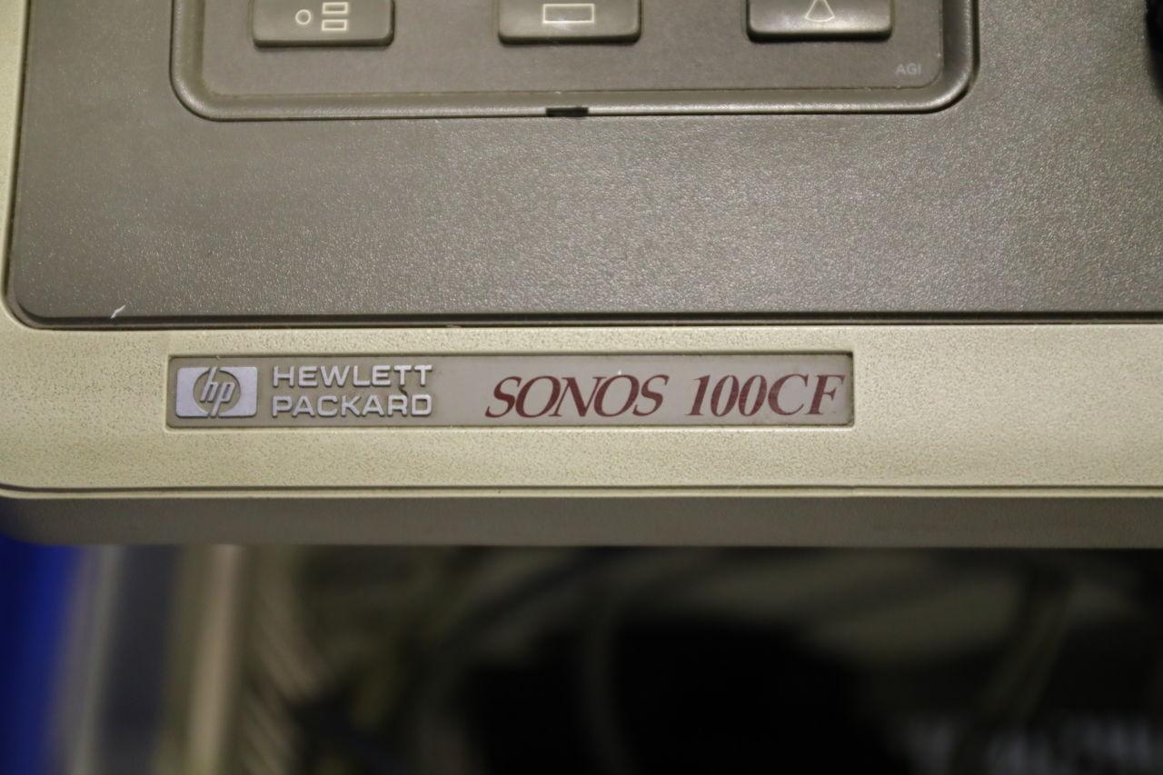 HP Sonos 100 CF Ultrasound Machine