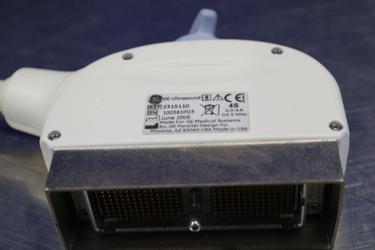 GE 4S Ultrasound Transducer