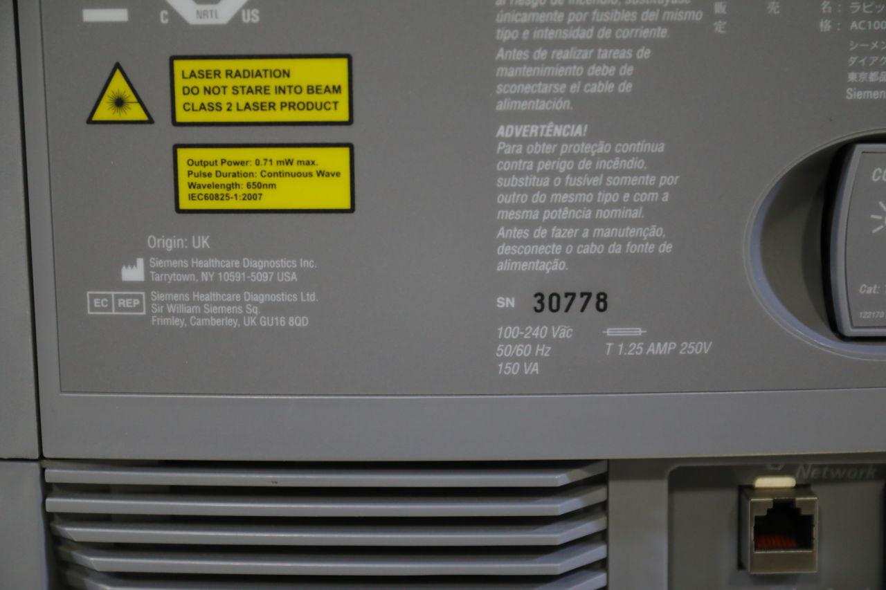 SIEMENS RapidPoint 500 Blood Gas Analyzer