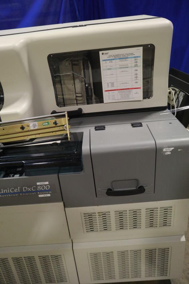 BECKMAN COULTER Synchron LX20 Unicel DxC 800 Chemistry Analyzer