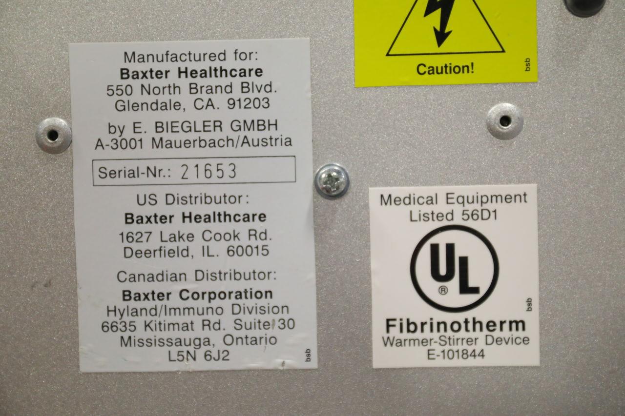 BAXTER Fibrinotherm Stirrers